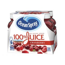 Ocean Spray 100% Juice -10 Ounce Bottle