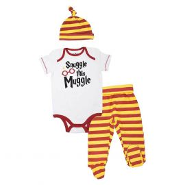Harry Potter Baby Boys' Layette Clothing Set