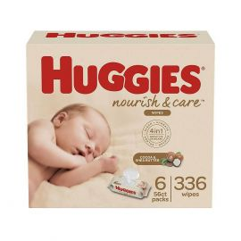 Huggies Nourish & Care for Baby Wipes